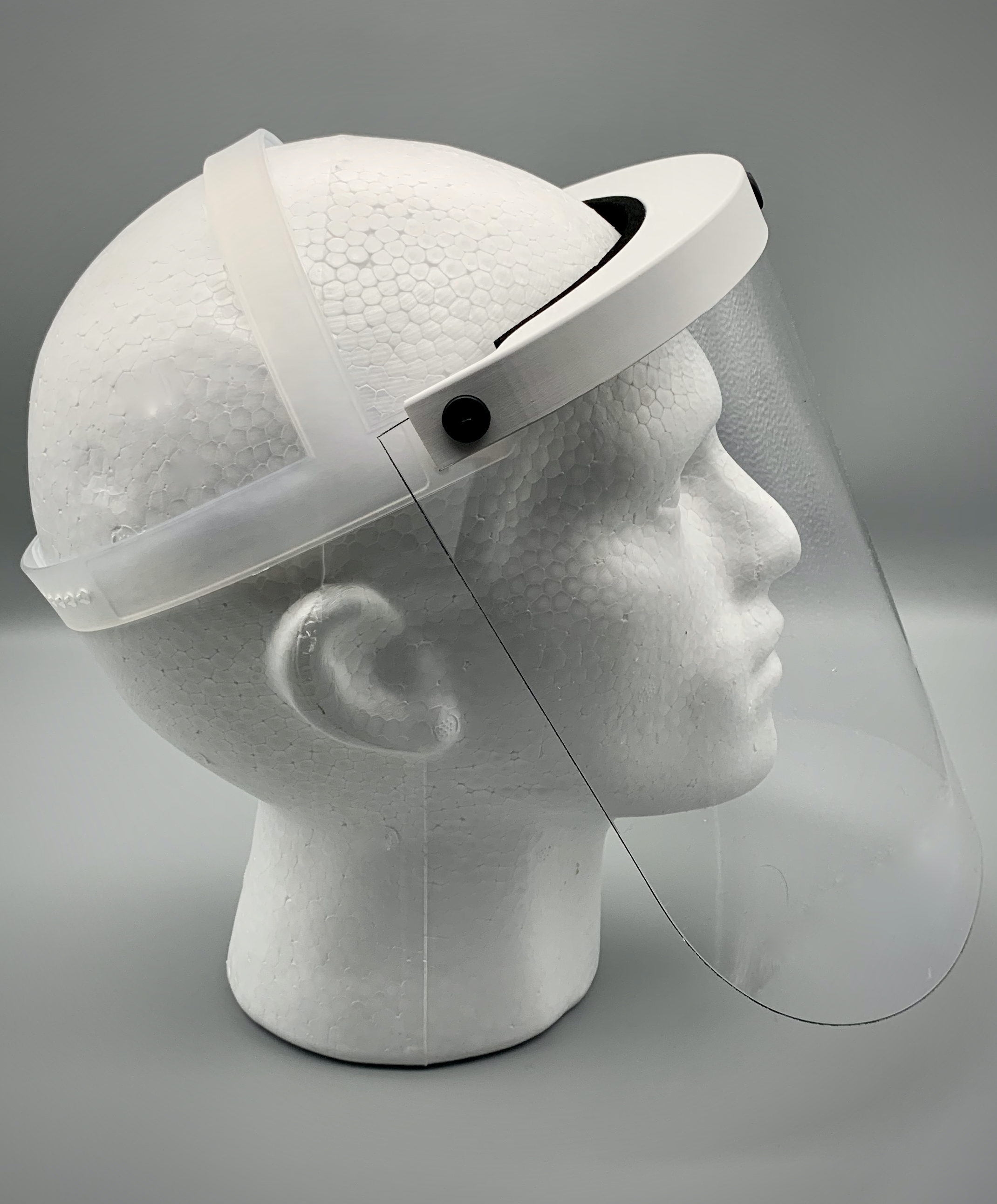 industrial face mask side profile